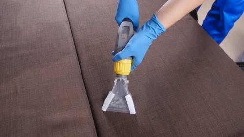 Dry Cleaning the Sofa in the Apartment or Office