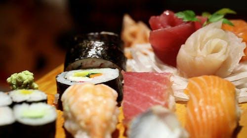 Presented Sushi