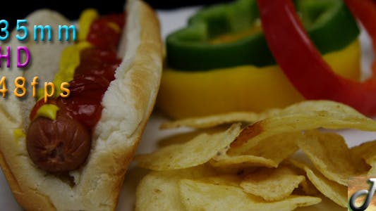 Cover Image for Hot Dog And Chips