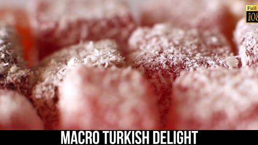 Cover Image for Macro Turkish Delight 4