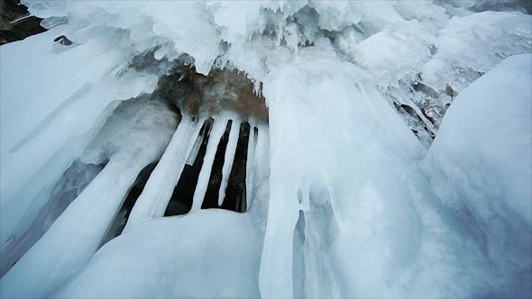 Panorama of Hanging Icicle 3