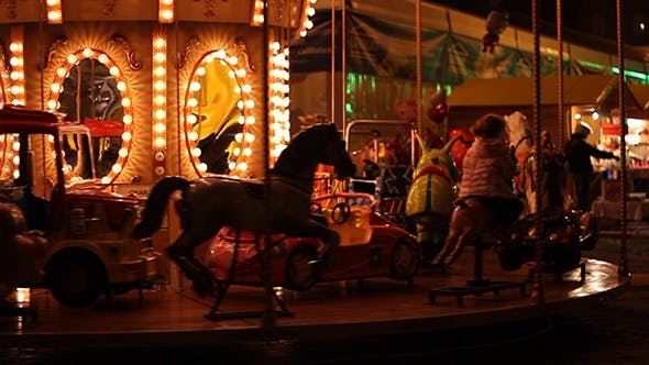 Thumbnail for Carousel by Night