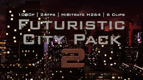 Futuristic City Pack 2