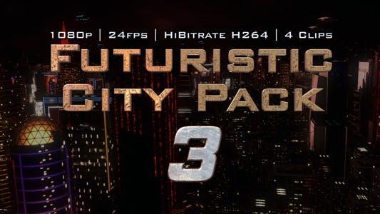 Futuristic City Pack 3