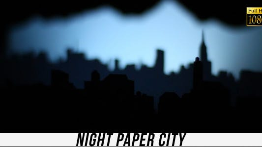 Thumbnail for Night Paper City