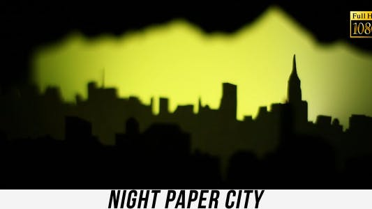 Thumbnail for Night Paper City 2