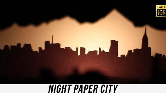 Thumbnail for Night Paper City 3