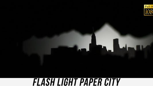 Thumbnail for Flash Light Paper City 2