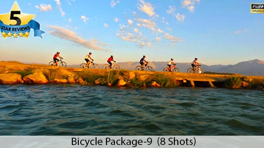 Thumbnail for Bicycle and Lake