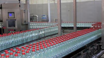 Bottling Of Mineral Water In Plastic Bottles