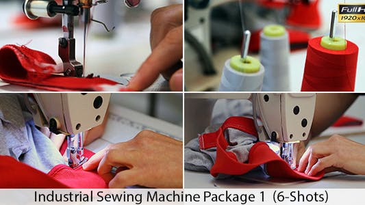Thumbnail for Industrial Sewing Machine 1