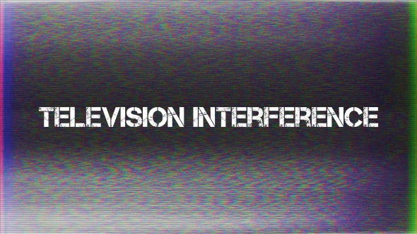 Thumbnail for Television Interference 4
