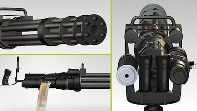 Machine Guns With Alpha