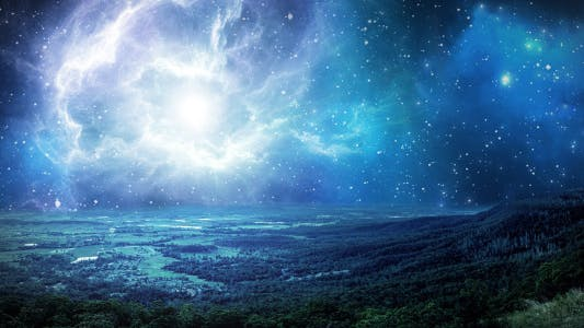 Thumbnail for Motion Space Panorama - Nebula Shine