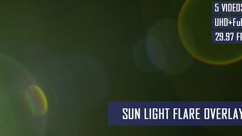 Sun Light Flare Overlay