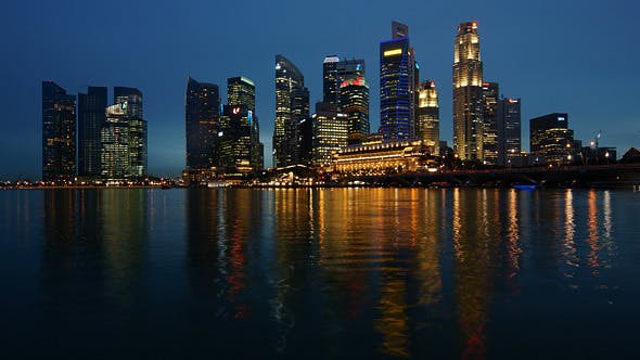 Thumbnail for Singapore At Night