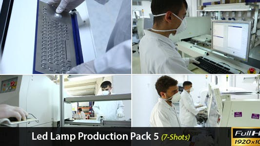 Thumbnail for Led Lamp Production Pack 5