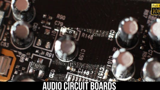 Thumbnail for Audio Circuit Boards