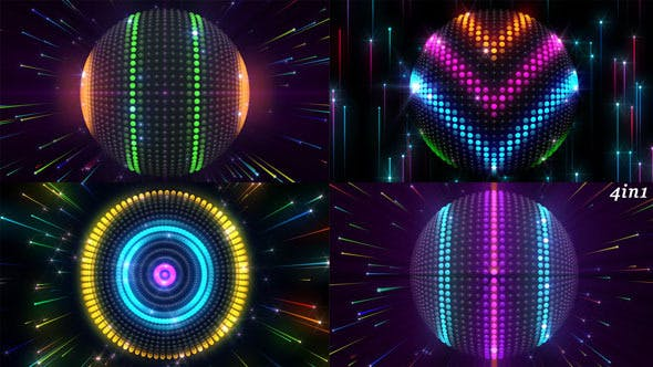 Thumbnail for Led Sphere (4-Pack)