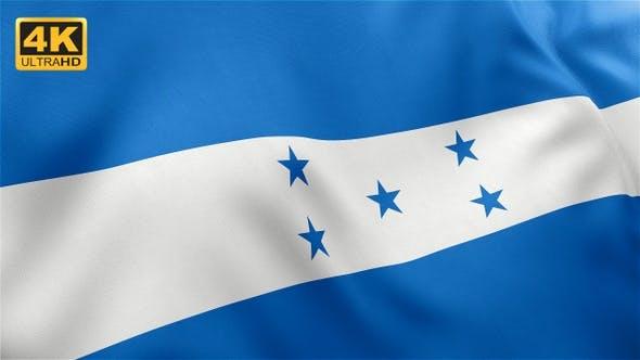 Thumbnail for Flag of Honduras - 4K