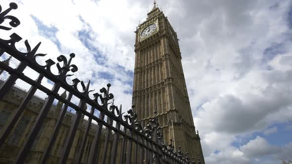 Thumbnail for Low angle of the Big Ben, London