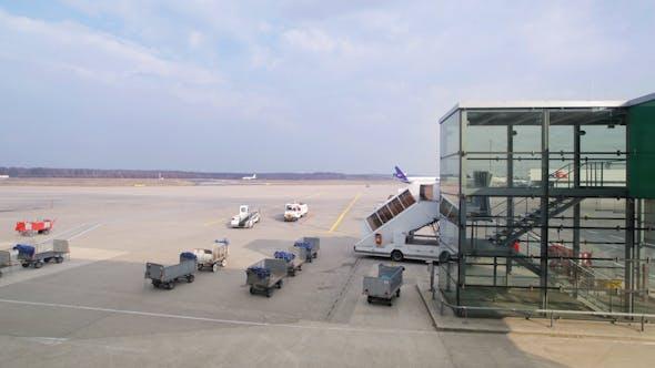 Thumbnail for Bonn Airport Plane