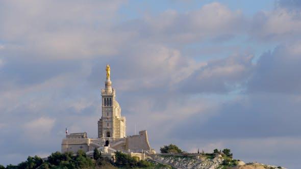Église Notre Dame De La Garde, Marseille, France