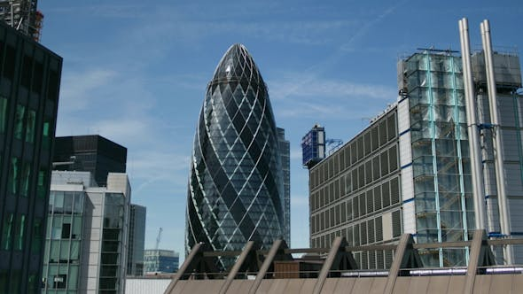 Thumbnail for Gherkin Building London England Financial Center Business