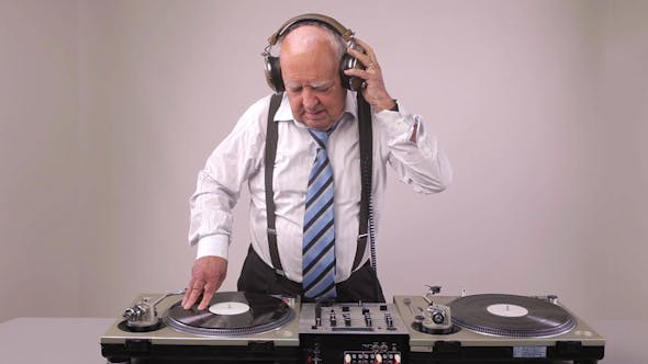 Thumbnail for Very Funky Elderly Grandpa Dj Mixing Records
