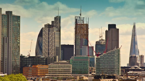 Thumbnail for London Skyline Financial Center England Business