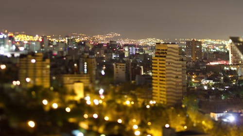 Mexico Df Skyline
