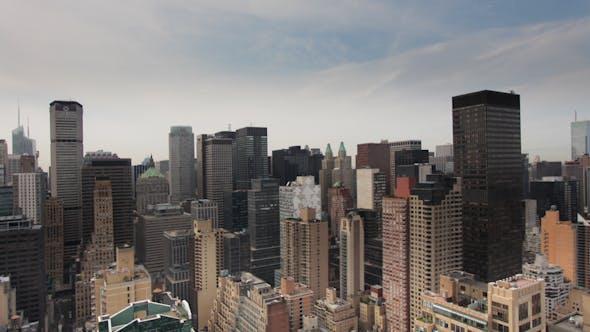 Thumbnail for Mimillenium Skyscrapers Manhattan Skyline New York