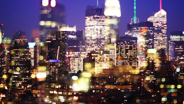 Thumbnail for New York Skyline Manhattan Night