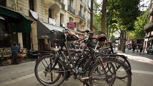 Thumbnail for Bikes, Green Transportation, Paris France