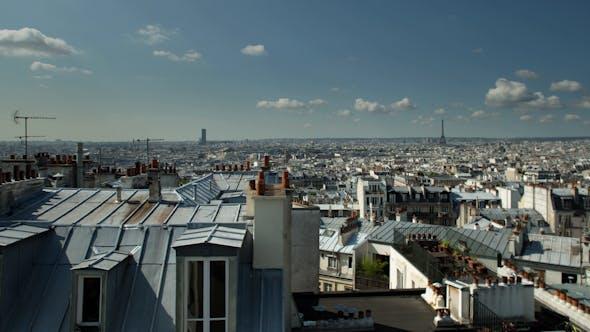 Thumbnail for Montmatre Rooftops, Paris France