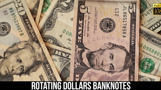 Cover Image for Rotating Dollars Banknotes 2