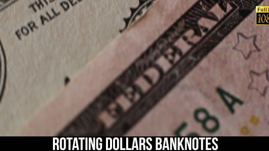 Cover Image for Rotating Dollars Banknotes 6