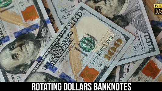 Cover Image for Rotating Dollars Banknotes 3