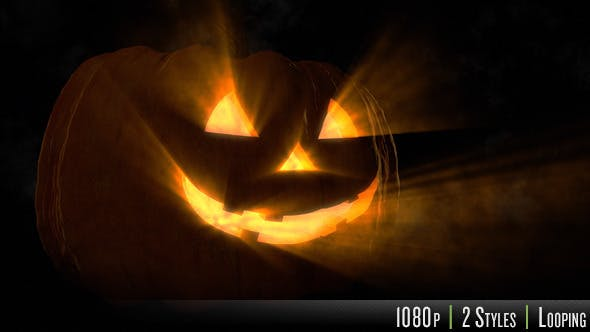 Cover Image for Halloween Pumpkin in the Dark