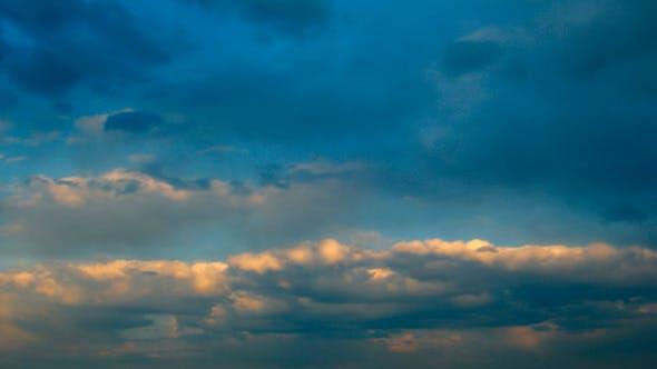 Evening Cloudy Sky