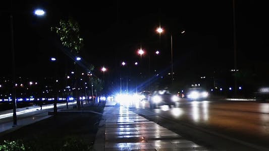 Thumbnail for Traffic at Night 1