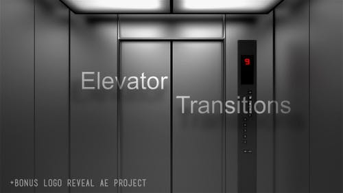 Aufzug-Übergänge