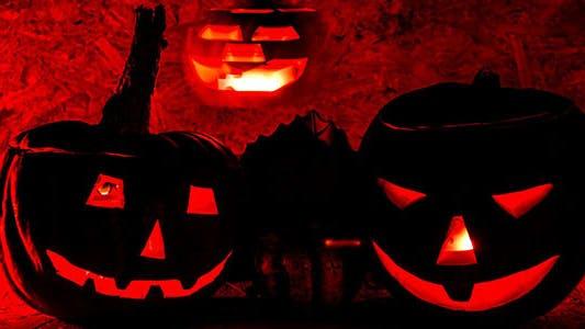 Thumbnail for Halloween Pumpkin, Scary Shape