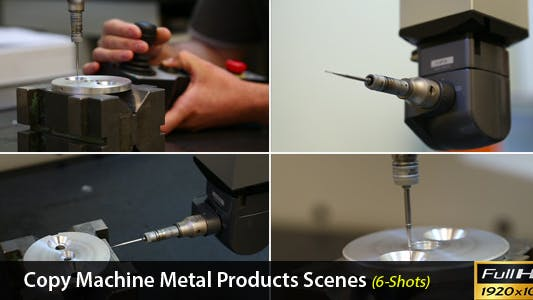 Thumbnail for Copy Machine Metal Products Scenes