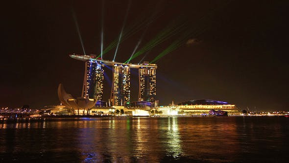 Thumbnail for Laser Show In Singapore