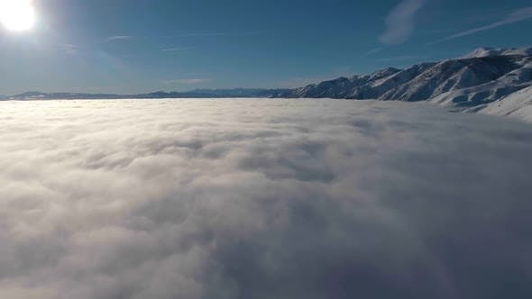 Thumbnail for Flying Above The Clouds