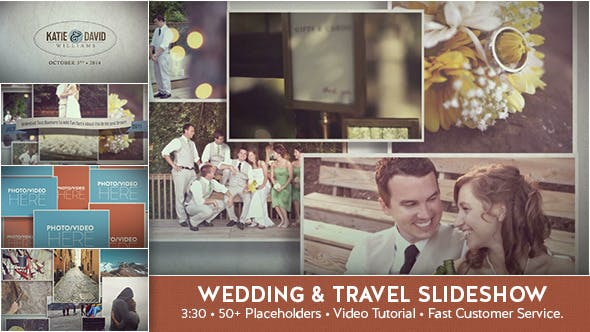 Thumbnail for Wedding & Travel Slideshow