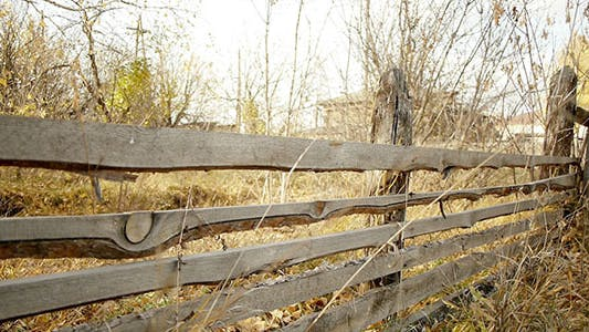 Thumbnail for Wooden Fence In Countryside