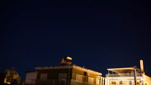 Cover Image for Timelapse Of Starry Sky