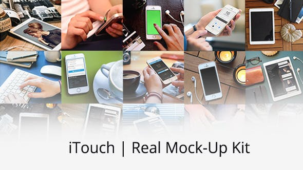 Thumbnail for iTouch | Real Mock-Up Kit